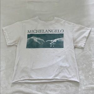 Michelangelo cropped tee from urban outfitters